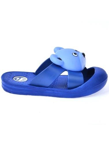 Kiko Kids Kiko Akn E238.002 Plaj Havuz Sesli Erkek Çocuk Sandalet Terlik Mavi
